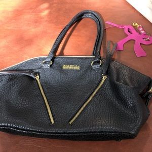 Kenneth Cole black satchel